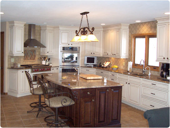 Lake builders kitchen supply mo portfolio photo for Kitchen design ideas photo gallery